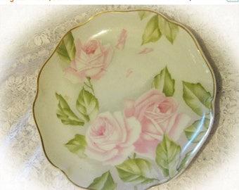 30% Off Clearance Sale Rosenthal Light Pink Rose Bavaria Porcelain Plate-Crysantheme