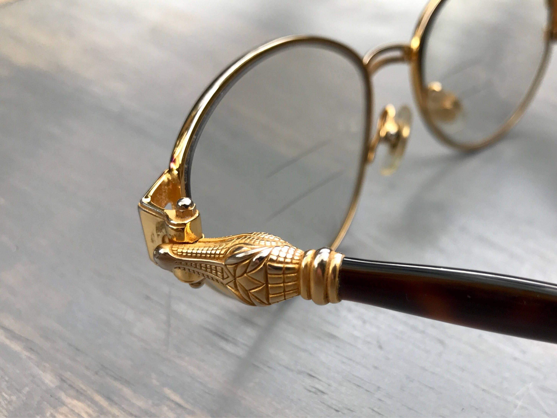 Kieselstein Cord Crocodile Eye Glasses Optical Frames Sunglasses ...