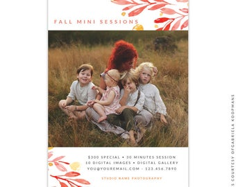 Fall Marketing Ad - Instant download - e1529