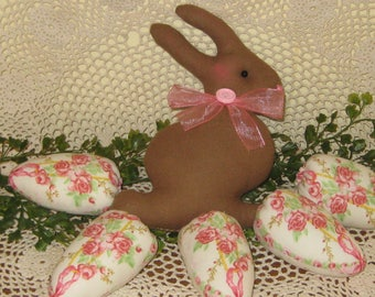 Easter rose wreath etsy rabbit rose eggs bowl fillers hostess gift easter basket traditional centerpiece negle Choice Image