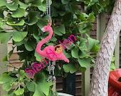 Fifi the Flamingo - 3D Beaded Brick/Peyote Stitch Ornament Tutorial PDF