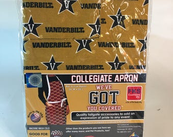 Vanderbilt University BBQ Apron-Vanderbilt Apron