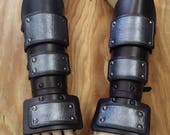 Leather Armor Banded Gauntlets
