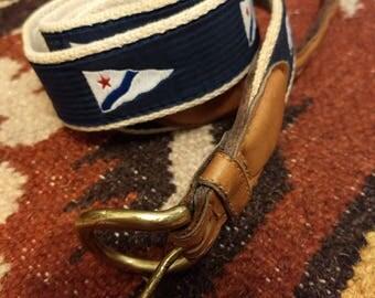 "Vintage woven belt 41"" long"