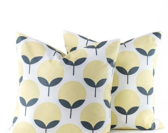 15% Off Sale SALE PILLOW Decorative pillow,Yellow Gray Pillow, Pillow Cover,  throw Pillows , pillows - throw pillows -Accent Pillows - couc
