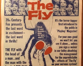 Movie Poster, The Fly with Vincent Price