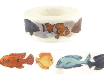 Tropical Fish Washi Tape - F13