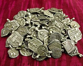 Antique Silver Amulet 100 gram Collection