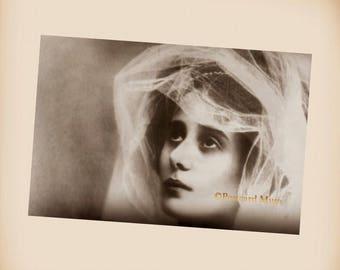 Russian Ballerina Anna Pavlova - New 4x6 Vintage Image Photo Print - AP09