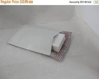 On Sale 100 4x8 self sealing  poly bubble mailing envelopes, mailers, plastic mailers