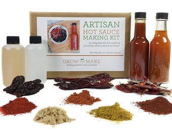 DIY Artisan Hot Sauce Kit