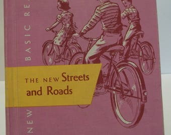 Vintage The New Basic Reader The New Streets and Roads School Book 1956