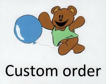 Custom order for Caitlin.  Corduroy skirt