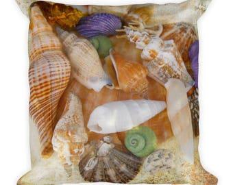 Sea Shell Square Pillow