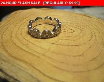 Kate Spade New York Rhinestone Ring size 6, statement ring, vintage ring, estate jewelry