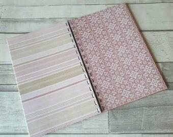 Junk Journal Starter Book - SmashBook Inspired - Creative Art Journal - December Daily - Scrapbook Journal - Art Diary - Pink Romance