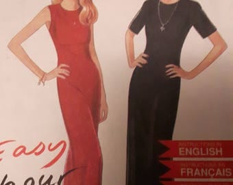 New Look Woman's Vintage Dress Sewing Pattern 6413