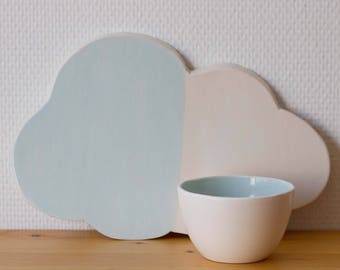 Cloud cup and tea Bowl