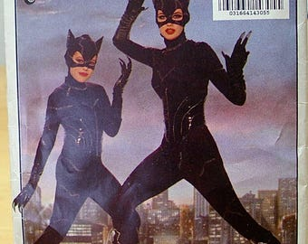 FREE Shipping! Catwoman Misses (Adult) sewing pattern Butterick 6378 XS S M L UNCUT