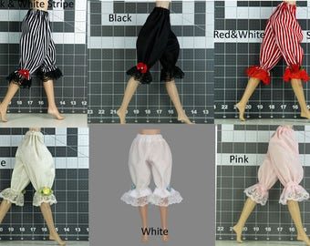 Doll Bloomers for Pullip DAL Licca Tangkou - Pantaloons - Underwear - Doll Clothes
