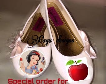 Snow White girl shoes
