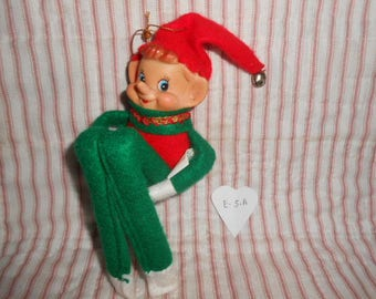 Christmas Elf Ornament - From China - E-5A