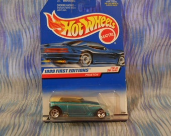 1999 Hot Wheels Mattel  Phaeton First Editions #14 of 26 Cars Sealed