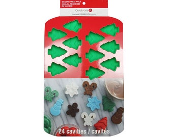Tree Mold - Christmas Tree Mold, Christmas Mold, Silicone Tree Mold, Soap Mold, Chocolate Mold, Candy Mold