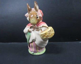 Mrs. Rabbit  Beswick England Beatrix Potters Figure 1951