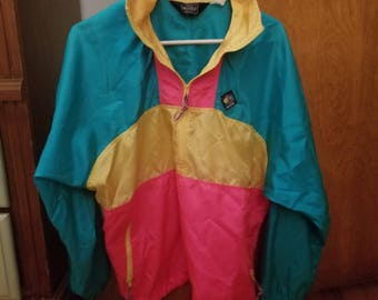 bright colored jacket