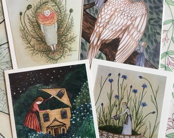 Fairy Folk Notecard Set