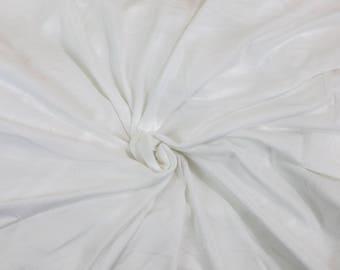 "100% Cotton Crotch Lining White Fat Quarter 18"" x 22"""