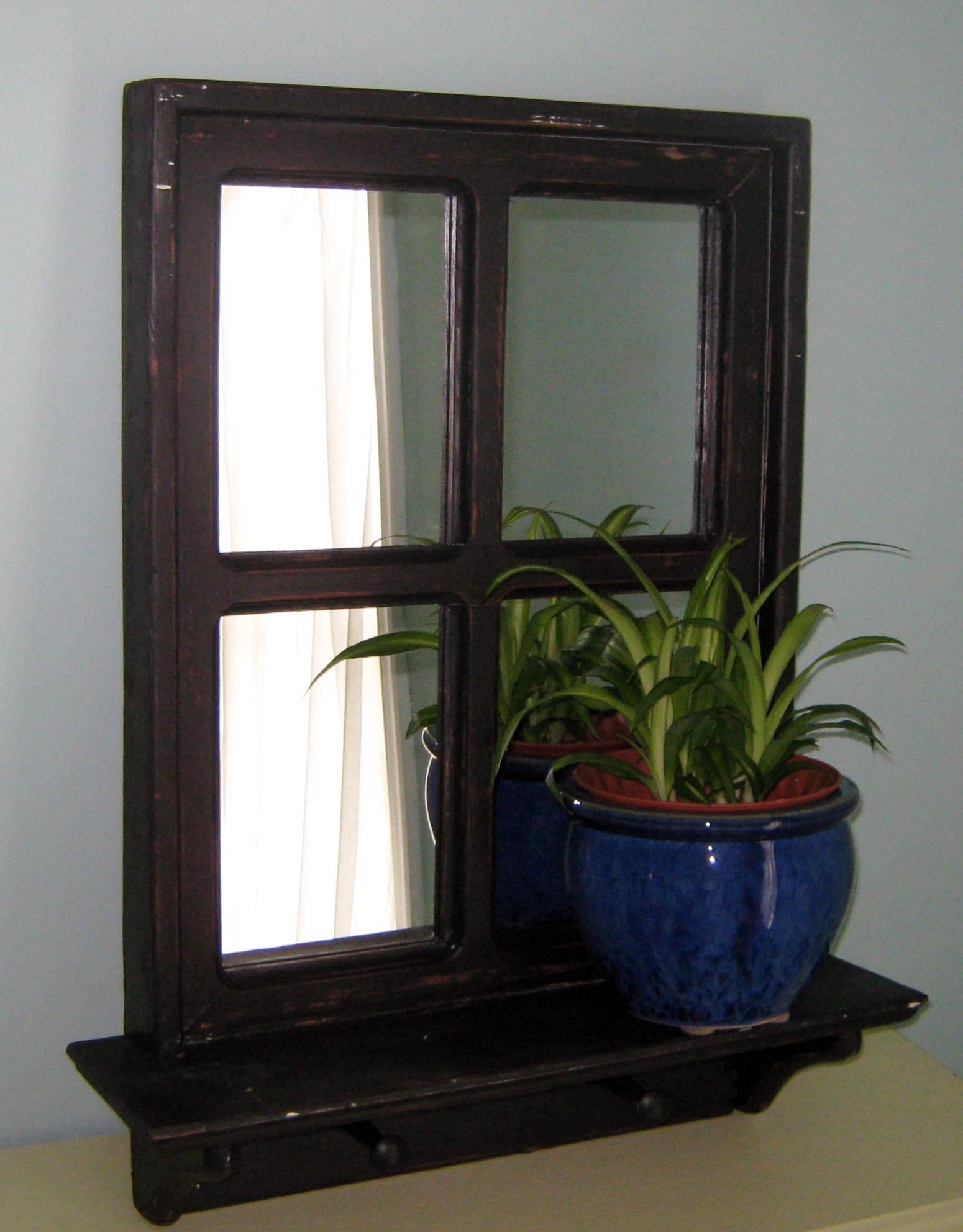 Foyer Mirror Uk : Black entryway mirror decor farmhouse style wall