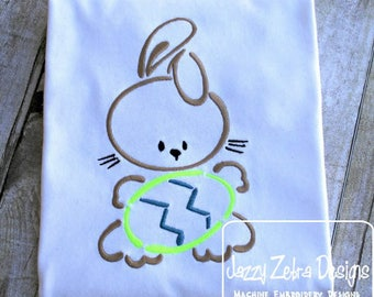 Easter Bunny with Egg Shirt - Custom Easter Shirt