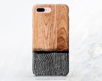 iPhone X Case iPhone 8 Case iPhone 7 Case Wood Geometric iPhone 7 Plus iPhone 6s Case iPhone SE Case Galaxy S7 Case Galaxy S8 Case T195