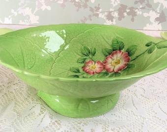 """Large serving Bowl """"Wild Rose"""" Carlton Ware, Australian Design B"""