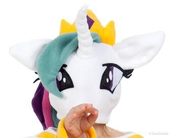 Princess Celestia Winter Hat For Kids My Little Pony