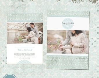 ON SALE NOW We're Expecting Announcement Card - Thank you card Template - Instant Download