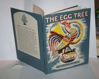 """Classic 1950 """"The Egg Tree"""" by Katherine Milhous!  Hardcover!  Ex Lib. Copy / Nice Condition!"""
