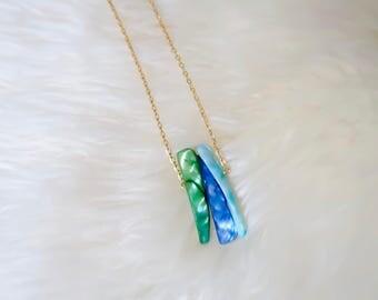 Naida | Shell Pendent Drop Necklace