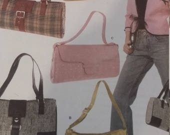 UNCUT and FF Pattern Pieces Simplicity 4646 Sewing Pattern One Size Bags Variations