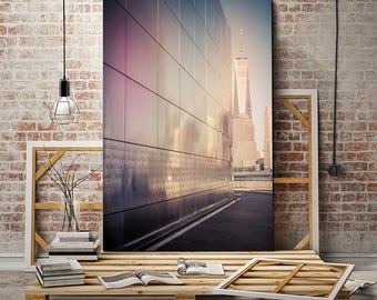 Large wall art, New York photography, World Trade Center Memorial canvas art, New York canvas art/large canvas art personalized office decor