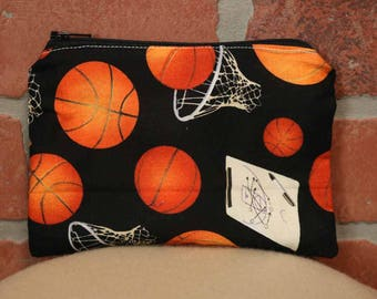 One Snack Sack, Basketball, Reusable Lunch Bags, Waste-Free Lunch, Machine Washable, Back to School, School Lunch, item #SS56