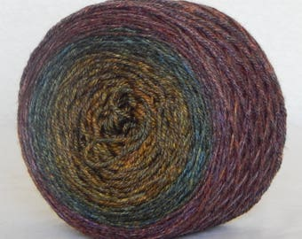 Down Below on Mad Panda 60/30/10 SW merino, bamboo and nylon sock yarn