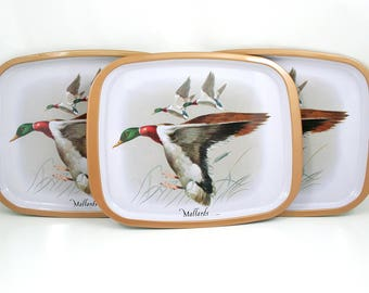 Mallard Duck Trays - Collection of 3