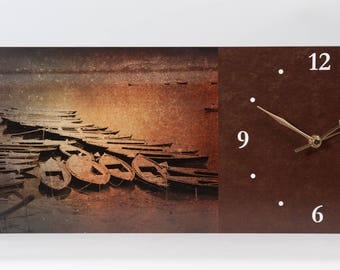 The Riverboats Wall Clock