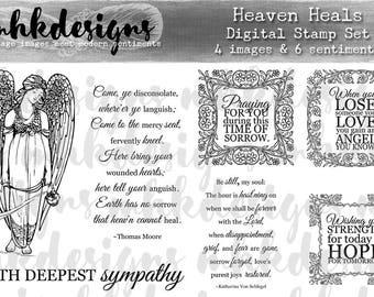 Heaven Heals Digital Stamp Set