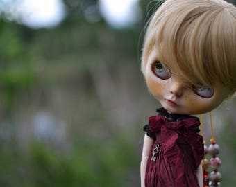 Mia - OOAK Blythe Custom Doll - By Ophelia Queen-