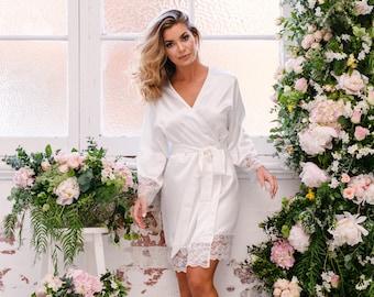 Sian Ivory Bridal Robe