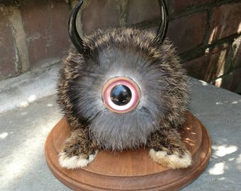 Horned rabbit creature monster